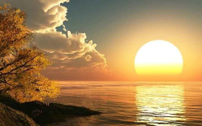 3D-Sun-Rising