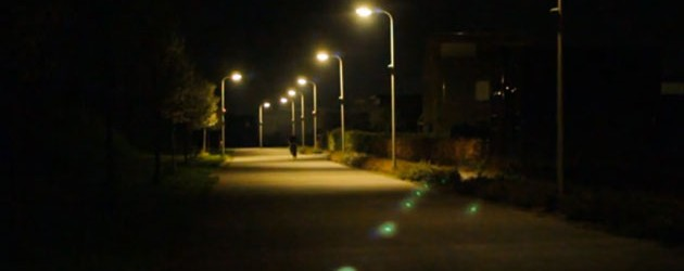 Under streetlights